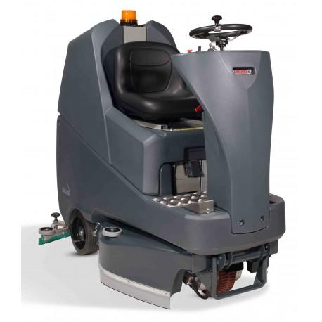 TRO650G NUMATIC autolaveuse autoportée avec 4 batteries gel + chargeur intégré + 2 brosses 330 mm 130L