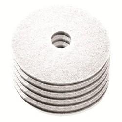 Disque de lustrage blanc diamètre 432mm - Carton de 5 - NUMATIC