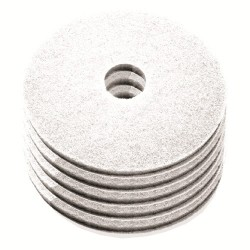 Disque de lustrage blanc diamètre 508mm - Carton de 5 - NUMATIC