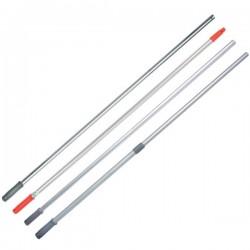 UNGER Manche aluminium 1,30m avec cône ERGO diametre 21mm poignee rouge