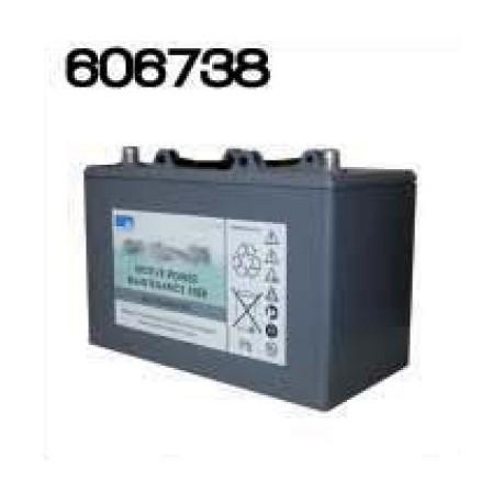 Batterie 12V 56Ahr pour autolaveuses grises antérieures à 2005 - NUMATIC