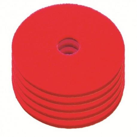 Disque de lustrage rouge diamètre 280mm - Carton de 5 - NUMATIC