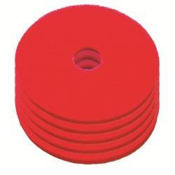 Disque de lustrage rouge diamètre 508mm - Carton de 5 - NUMATIC