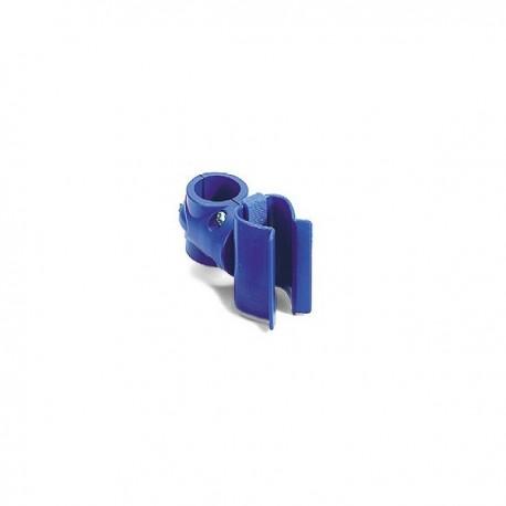 Support manche pour tubes - Fixation à vis 14 mm