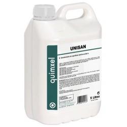 Detergent virucide surface concentré 0.5% UNISAN Norme EN14476 compatible nébuliseur - Bidon 5L