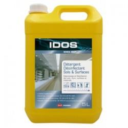 IDOS DD-SF Detergent sols et surfaces alimenatire VIRUCIDE EN 14476 à 0.5% - Bidon de 5L