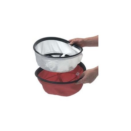Ensemble Duotex (Permatex, coton rouge) Ø356mm - NUMATIC