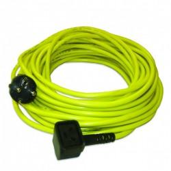Câble jaune 15m 3x1,5mm² NUPLUG - NUMATIC