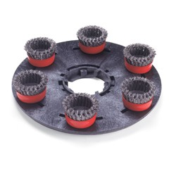 Plateau support brosses de scarification Ø 406mm - NUMATIC