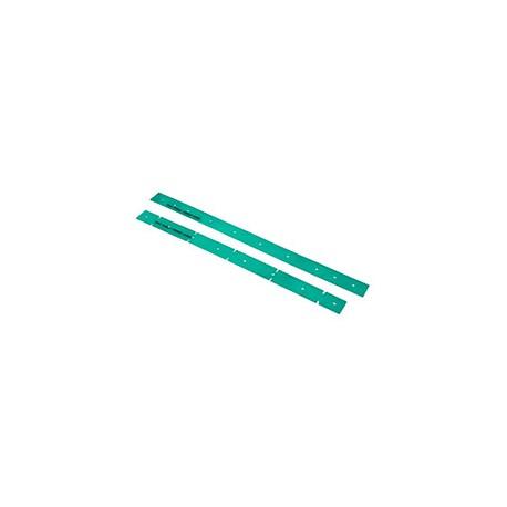 Jeu de 2 listels - lamelles VERTS SERILOR Pour TTG1840/TGB1840 - NUMATIC
