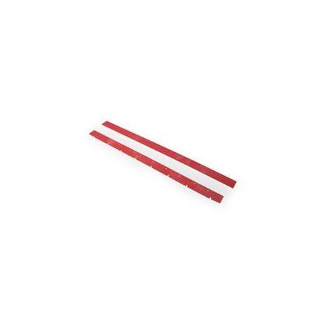 Lamelles rouges Numatex (x2) 805mm - NUMATIC