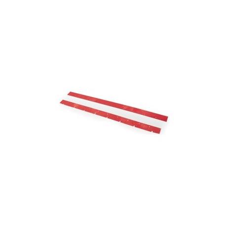 Lamelles rouges Numatex (x2) 1050mm - NUMATIC