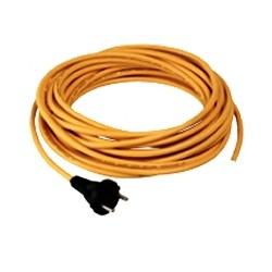 Câble jaune 3x1,5mm² long. 20m SANS PLUG pour TT1840 / TTG1840 - NUMATIC