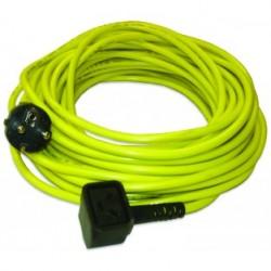 Câble jaune NUPLUG 3x1,5mm‐20m - NUMATIC