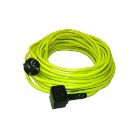 Câble jaune NUPLUG 3x1,5mm²‐20m - NUMATIC