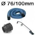 Les accessoires en Ø76/100mm